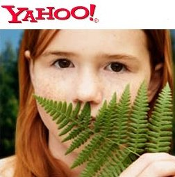 Yahoo Goes Green
